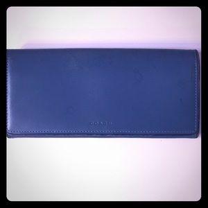 COACH double open wallet